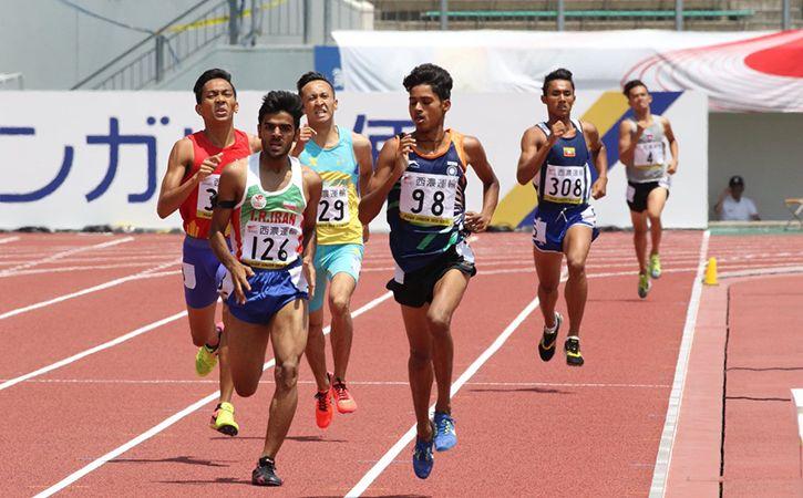 Anu Kumar Shines At Asian Junior Athletics Championships