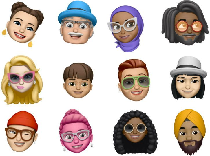 Apple iOS 12 Memoji