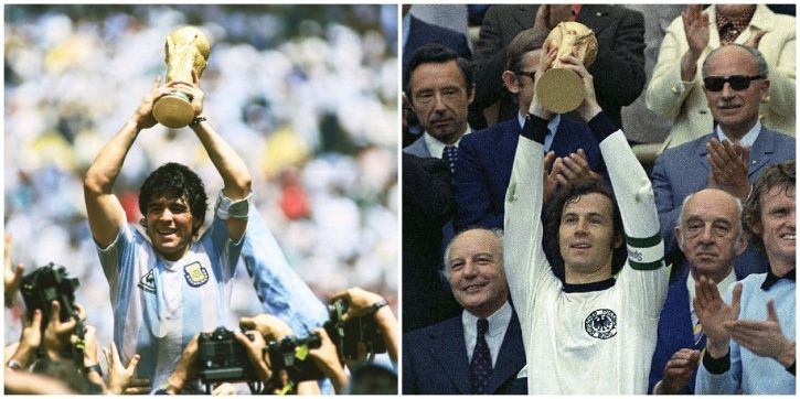 Argentina and Germany have played 3 FIFA World Cup finals