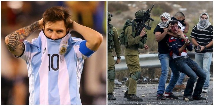 Argentina were supposed to play in Jerusalem on June 9