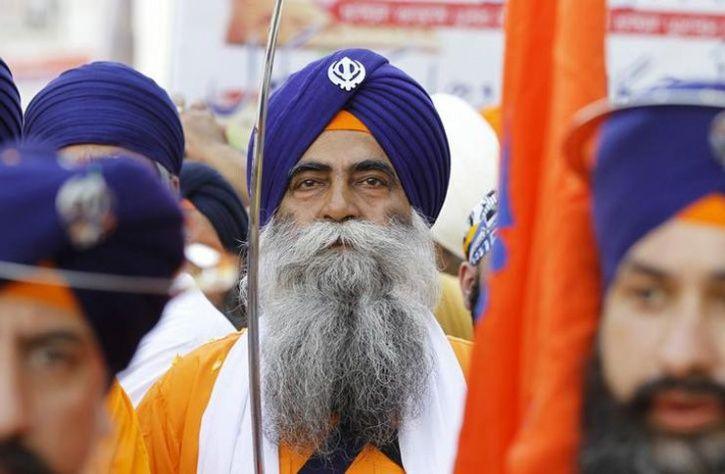 Attacks Force Minority Sikhs