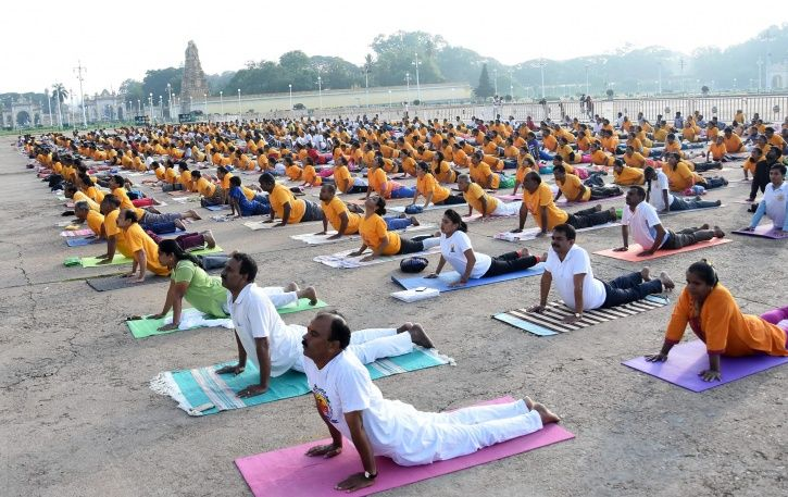 Ayush Ministry, ISRO, Yoga, International Yoga Day, June 21