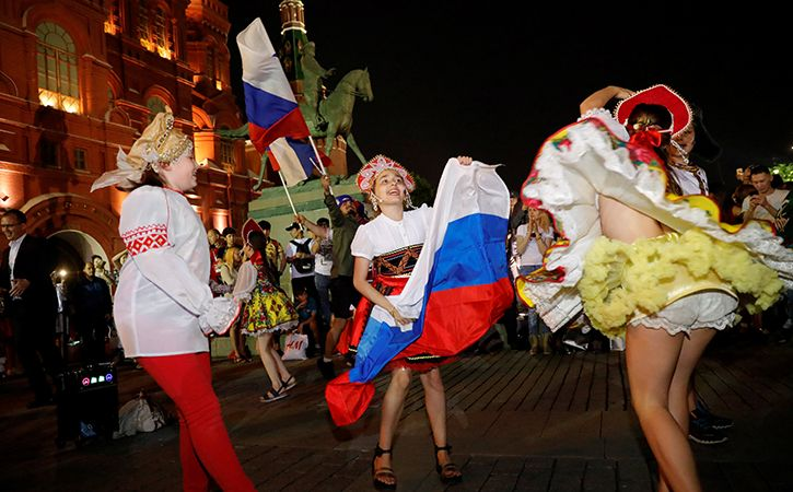 Bollywood Euphoria In Russia Amid World Cup Fever