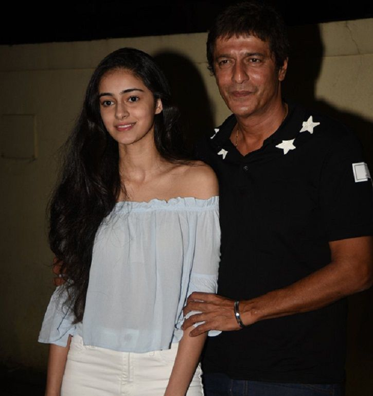Chunky Panday's daughter Ananya Panday  who will be seen in Student Of The Year 2.