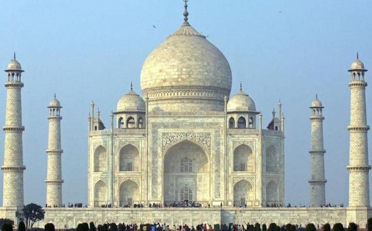 Colour Of Taj