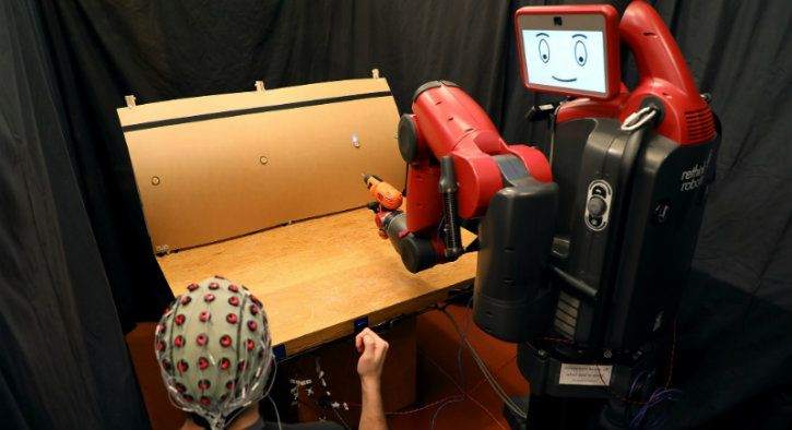 commanding robots with hand signals and brain waves only