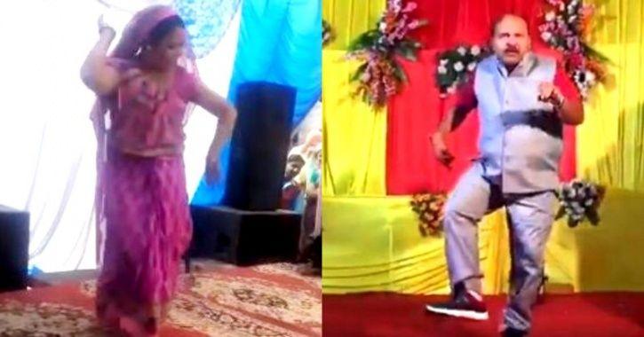 dancing aunty