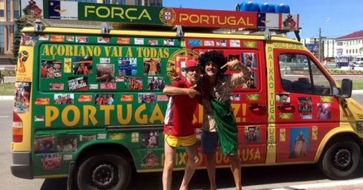 Die-Hard Portugal Fans