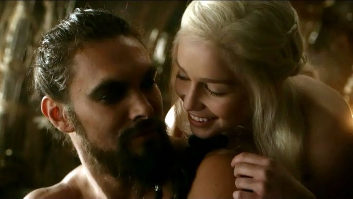 Emilia Clarke & Jason Momoa Had A Super Fun 'Game Of Thrones' Reunion