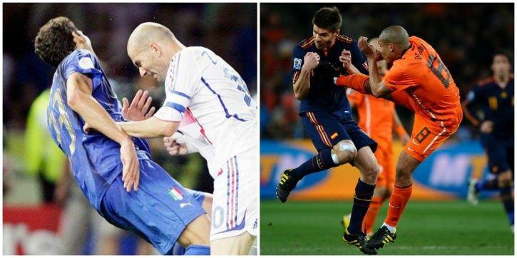 FIFA World Cup has seen many fouls