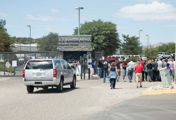 First glimpse of immigrant children at holding facility
