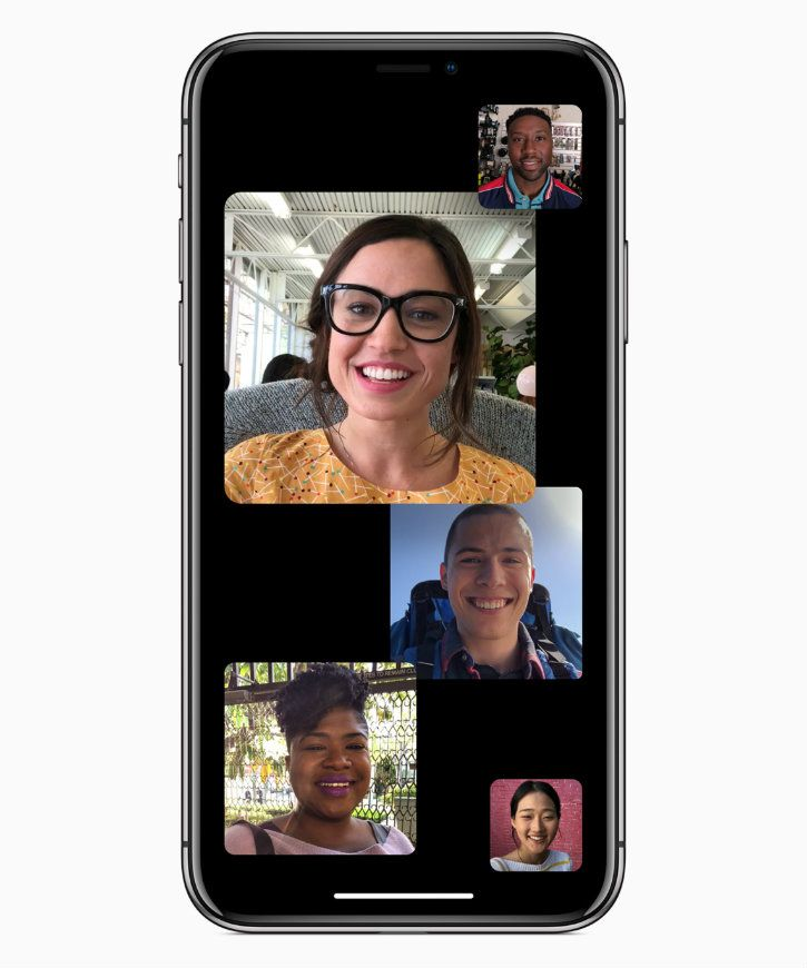 Group FaceTime in iOS 12