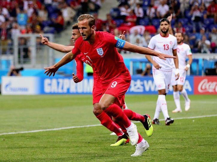 Harry Kane scored twice for England