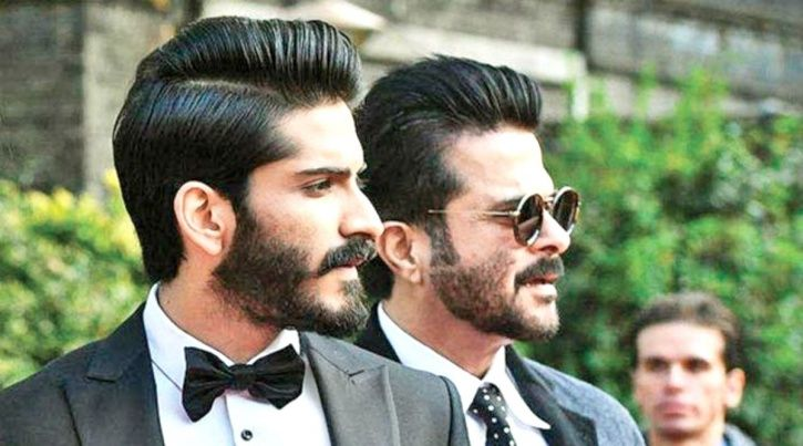 Harsh and Anil Kapoor