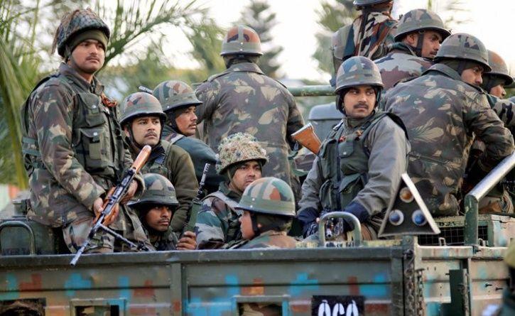 high alert in jammu and kashmir