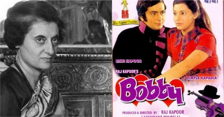I Indira Gandhi  Bobby Poster