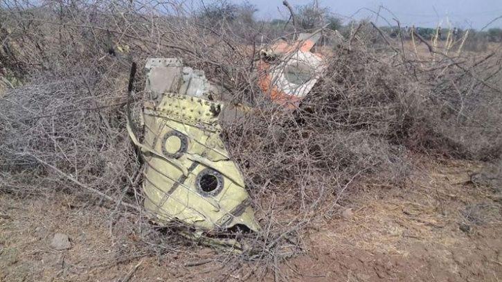 IAF fighter jet crashes
