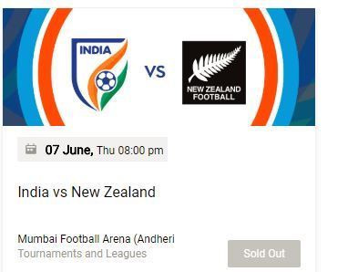India play New Zealand on June 7