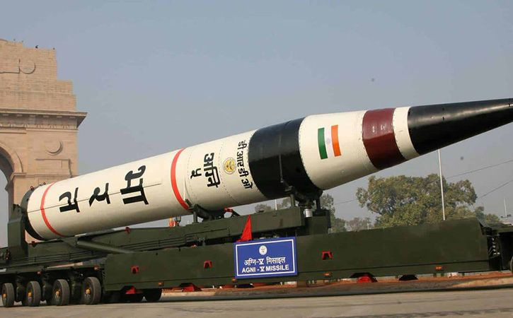 India Successfully Test Fires Nuclear Capable Agni 5