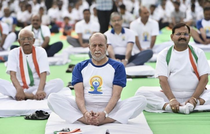 International Yoga Day 12