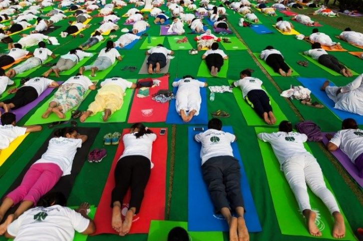 International Yoga Day 6