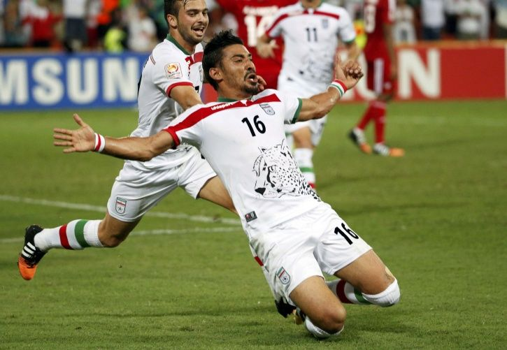 Iran won 1-0 vs Morocco