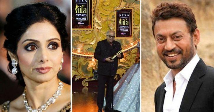 Irrfan Khan & Sridevi Get Top Honours At IIFA 2018, Here's The Complete List Of Winners