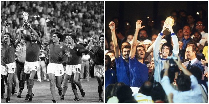 Italy won in 1938 and 1982