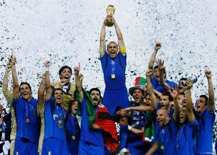 Italy won the FIFA World Cup in 2006