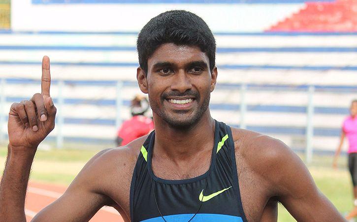 Jinson Breaks Sriram 42 Year Old 800m Record