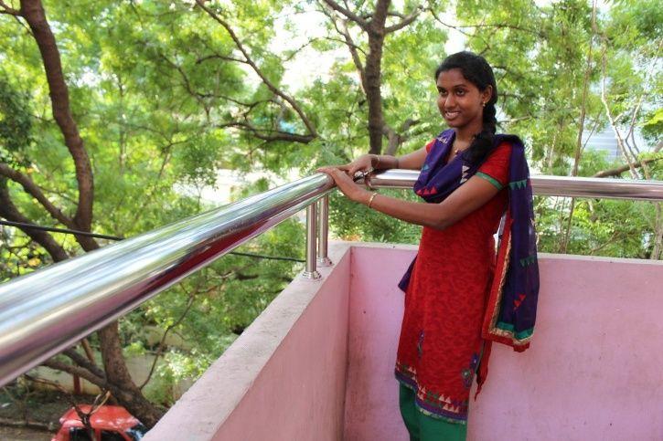 K Prithika Yashini,sub inspector, transgender