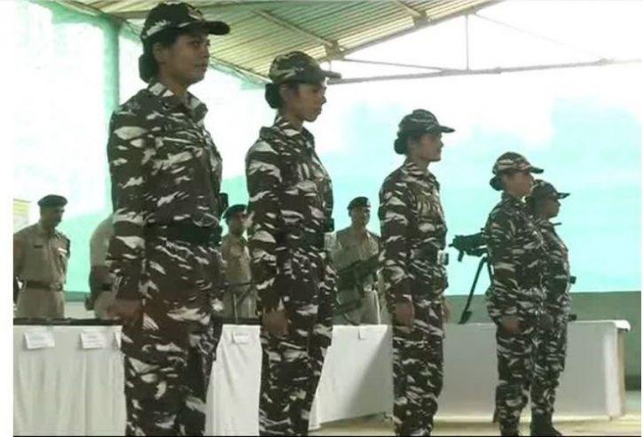 lady commandos, CRPF, jammu and kashmir