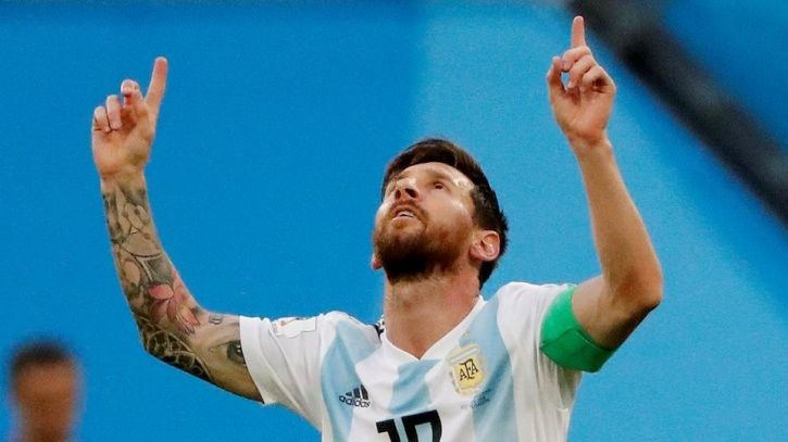 Lionel Messi scored vs Nigeria