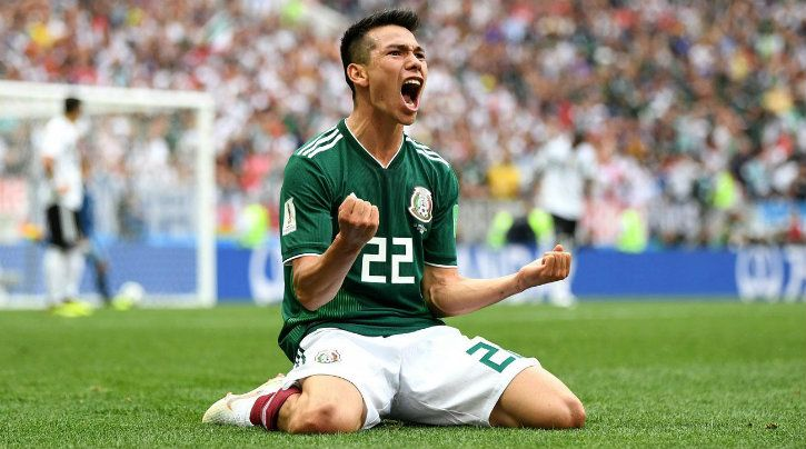 Lozano scores only goal for Mexico as they defeat Germany at World Cup 2018