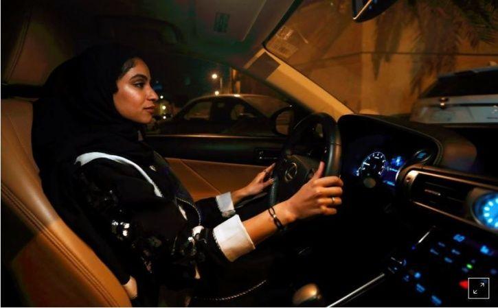 Majdooleen, Riyadh, Saudi Arabia, driving ban