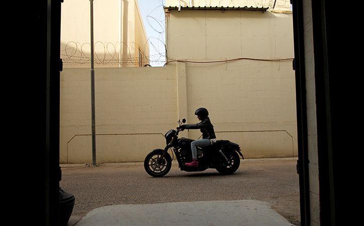 Man Takes Rs 10 Lakh Harley Davidson Bike For Test Ride