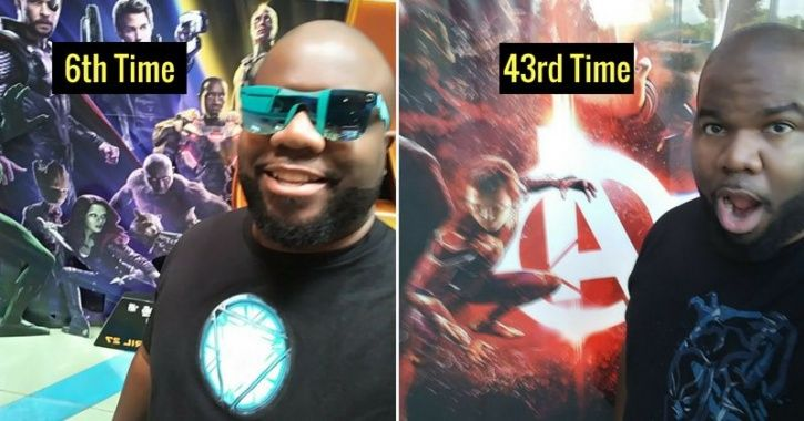 Marvel Fan Watches 'Avengers: Infinity War' 43 Times, Finds Answer To Life, Universe & Everything