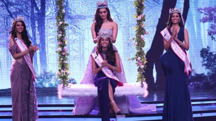 Meet 19-Year Old Anukreethy Vas From Tamil Nadu Who Has Been Crowned Femina Miss India 2018