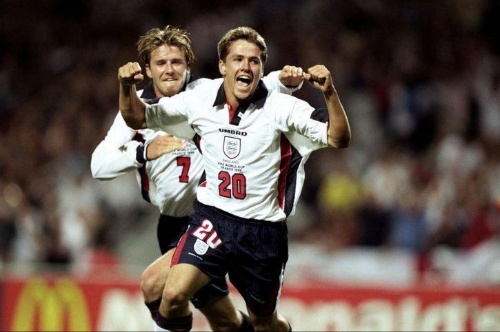 Michael Owen scored the best goal of the 1998 FIFA World Cup