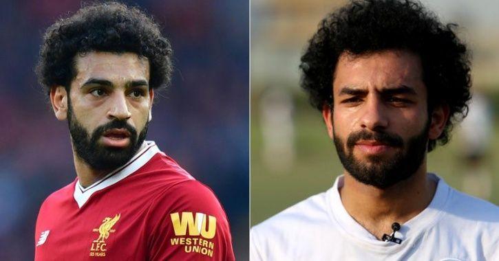 Mohamed Salah and Hussein Ali