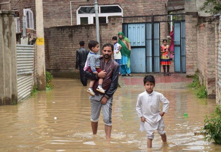 monsoon, flood, srinagar, rains