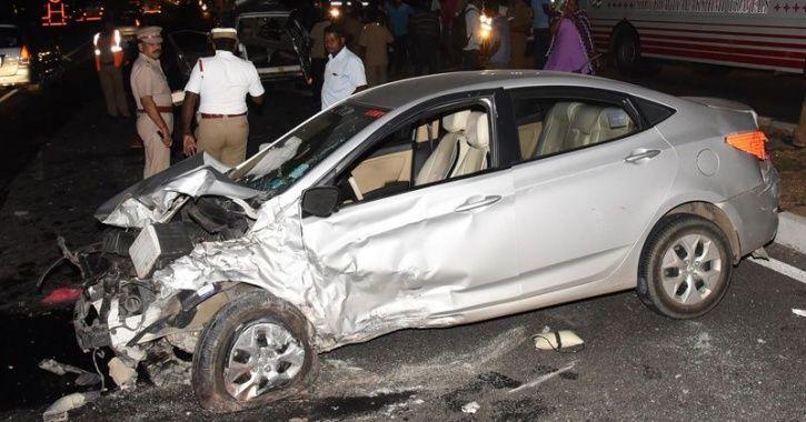 Mumbai car aaccident