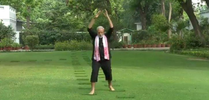 Narendra Modi Workout