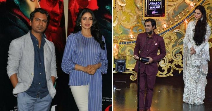 Nawazuddin Dedicates His IIFA Win To Sridevi, Feels Privileged To Having Worked With Her