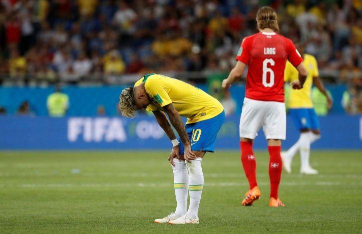 Neymar did not impress in Brazil
