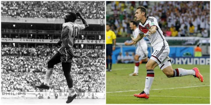 Pele has scored 12 FIFA World Cup goals
