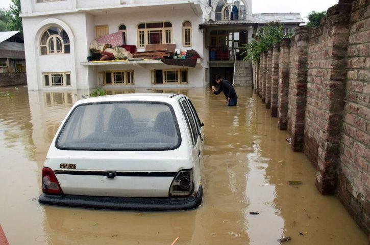 rains, flooding, monsoon, Srinagar