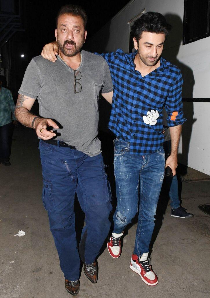 Ranbir and Sanjay