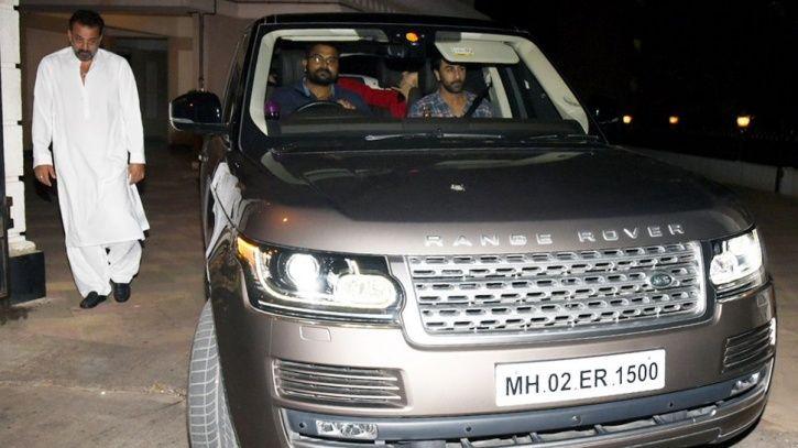 Ranbir Kapoor Meets Sanjay Dutt Ahead Of Sanju's Release, Girlfriend Alia Bhatt Accompanies Him