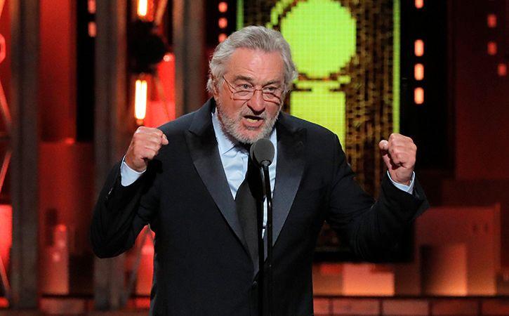 Robert De Niro Drops The F Bomb Against Donald Trump